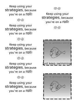 Testing (PSSA) Motivators