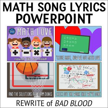Testing Pep Rally Math Song Lyrics PPT