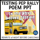 Testing Pep Rally Poem PPT