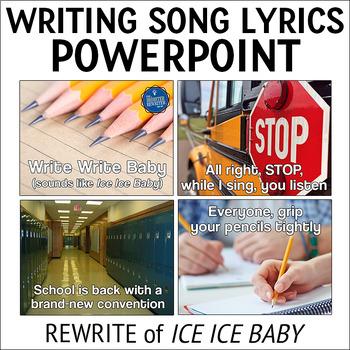 Testing Pep Rally Writing Song Lyrics PPT
