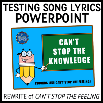 Testing Song Lyrics PowerPoint