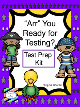 Test Prep Kit-- Searching for Great Test Scores!  Pirate Theme