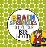 Testing Reward   Brain Sprinkles