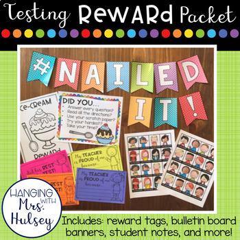 Testing Reward Celebration Packet
