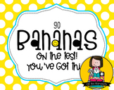 Testing Reward Treat Tag | Bananas