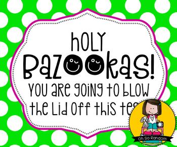 Testing Reward Treat Tag | Bazooka