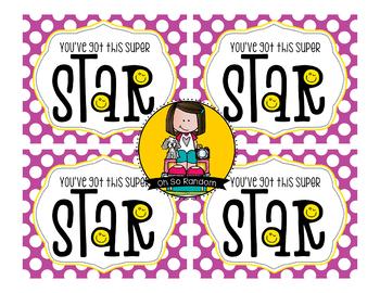 Testing Reward Treat Tag | Star