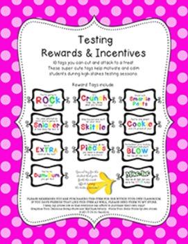 Testing Rewards & Incentives BUNDLE