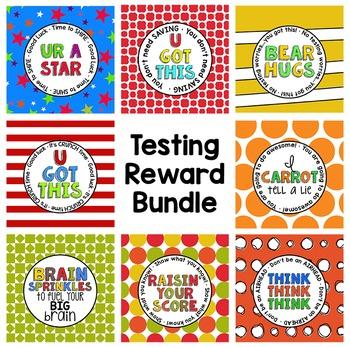 Testing Reward/Treat Tag BUNDLE 4   GMAS