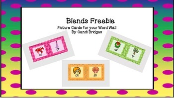 Blends for Word Wall