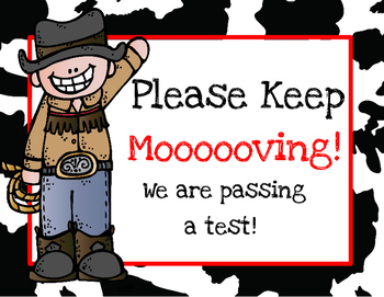 Western Testing Signs