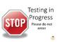 Testing Quiet Sign