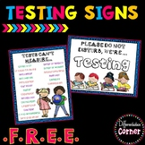 Testing Signs