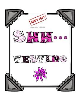 Testing Signs Pink Theme
