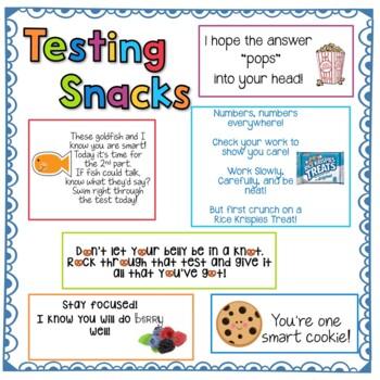Testing Snacks