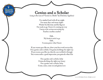 Testing Song Lyrics for Genie in a Bottle