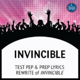 Testing Song Lyrics for Invincible
