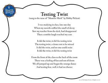 Testing Song Lyrics for Monster Mash