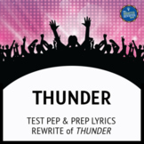 Testing Song Lyrics for Thunder