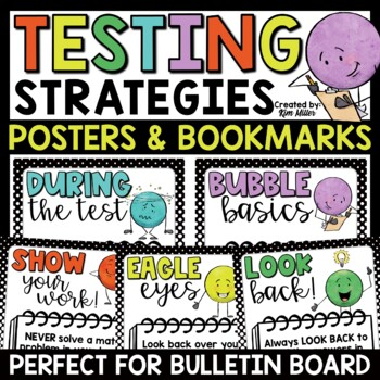 Test Prep: Relax & Cubes Poster Set & Bookmarks