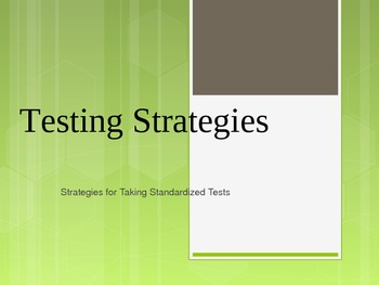 Testing Strategies Power Point