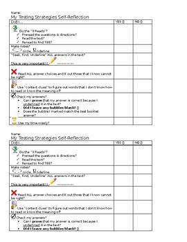 Testing Strategies Self-Monitoring