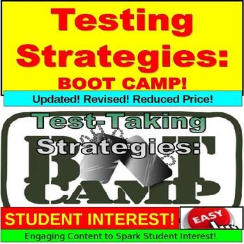 Testing Strategies : Standardized Testing Boot Camp PowerPoint