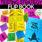 Testing Strategy Flip Book: Rock the Test   Test Taking Strategies