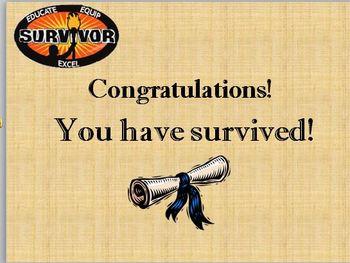 Testing Survivor Grammar Game!