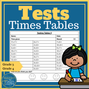 Times Tables Testing Multiplication and Division