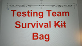 Testing Team Survival Kit Editable Template