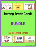 Testing Treat Cards (BUNDLE)