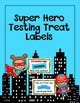 Testing Treat Label Bundle: Rock, Super Hero, Math, Ink Sa