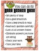 Testing Treat Notes and Strategies Poster