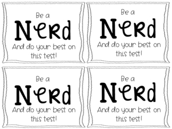 Testing Treat Sayings