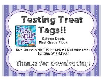 Testing Treat Tags!