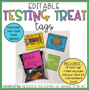 Testing Treat Tags