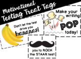 Testing Treat Tags / Snack Labels / Test Prep / Motivational