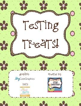 Testing Treats freebie!