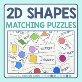 2D Shapes Matching Puzzles