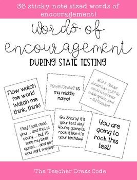 Testing Words of Encouragement