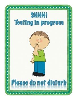 Testing in Progress ~ Please do not disturb {FREEBIE}