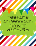 Testing in session sign