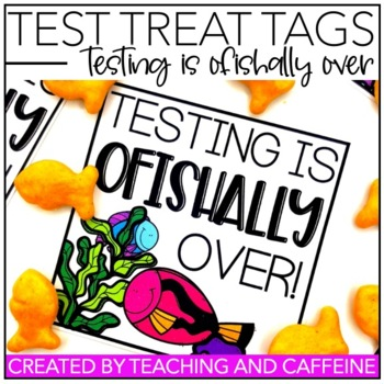 "Testing is O""FISH""ally Over {Testing Motivation Treat Tag}"