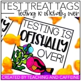 "Testing Treat Tag | Testing is O""FISH""ally Over"