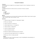 Testing the Scientific Method Lab Activity (Great for back to School)