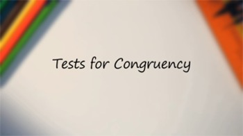 Tests for Congruency