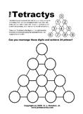 Tetractys Prime Puzzle