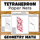 Tetrahedron 3D Shapes Geometry Math