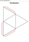 Tetrahedron 3D Model